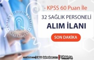 Ankara Yıldırım Beyazıt Üniversitesi Mülakatsız...