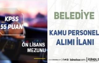 Çardaklı Belediyesi 55 KPSS Puanı İle Kamu Personeli...