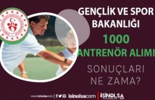 GSB 2021 Yılı Sözleşmeli 1000 Antrenör Alımı...
