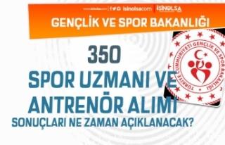 GSB 350 Antrenör ve Spor Uzmanı Alımı Başvuru...