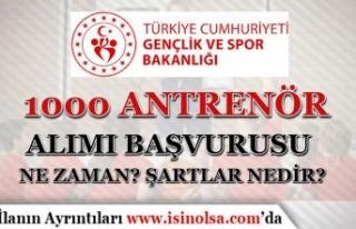 GSB 60 KPSS İle 1000 Antrenör Alımı Başvuruları...