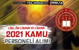 HSK 10 Kamu Personeli (VHKİ ve Hizmetli ) Alımı...