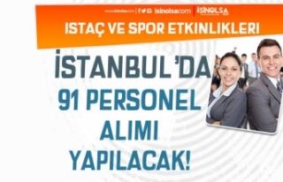 İstanbul İSTAÇ ve Spor Etkinlikleri KPSS siz 91...
