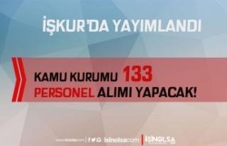 Kocaeli BELDE İkamet Şartsız 133 Personel Alımı...