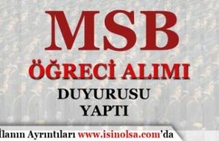 MSB Sağlık Bilimleri Üniversitesi Askeri Öğrenci...