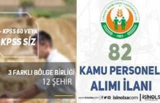 Tarım Kredi 3 Bölgeye ( Tekirdağ, Balıkesir, İzmir...