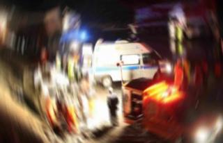 TEM'de Feci Kaza! 1 ölü, 3 yarlı