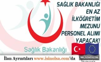 Sağlık Bakanlığı Kura ile  İlköğretim Mezunu Personel Alımı Yapacak. Başvuru 17 Temmuzda Son!