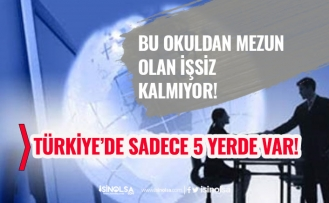 Bu Okuldan Mezun Olanlara İş Garantisi! Türkiye'de Sadece 5 Tane Var!