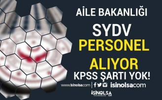 Aile Bakanlığı Eskişehir Mihalgazi SYDV KPSS Siz Personel Alımı Yapıyor