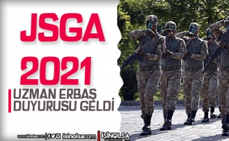JSGA 2021 Yılı Uzman Erbaş Sonuç Açıklama Duyurusu Geldi!