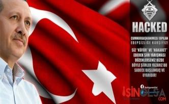 Erdoğan'a hakarete cezayı hackerler kestiler!