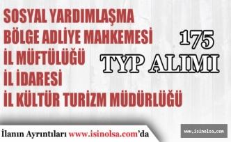 İŞKUR TYP Kapsamında 175 İşçi ve Personel Alımı İçin Son Günler!
