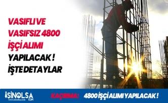 İŞKUR Üzerinden 4800 Vasıflı-Vasıfsız İşçi Alınacak! İlanlara Başvurular Başlıyor!