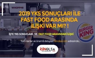 YKS Sonuçları Ve Fast Food İlişkisi