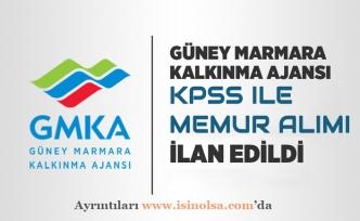 Güney Marmara Kalkınma Ajansı Memur Alımı İlanı Açıkladı