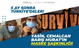 Survivor 2020 Yarışmacısı Yasin, Cemalcan, Barış Murat'ın Maske Şaşkınlığı!