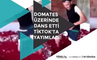 Salça Fabrikasında Domateslerin Üzerinde Dans Etti TikTok'ta Yayımladı! Yeni Gelişme
