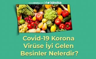 Covid-19 Korona Virüse İyi Gelen Besinler Nelerdir?