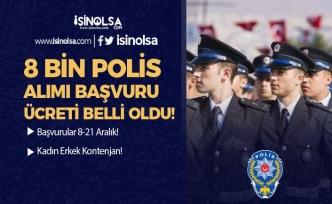 27. Dönem Polis Alımı Başvuru Ücreti Duyuruldu! İşte Banka Hesap Bilgileri