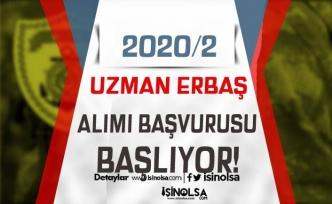 2020/2 Uzman Erbaş Alımı Bugün Başlıyor! Kimler Başvuru Yapabilecek?