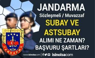 Jandarma 2021 Yılı Sözleşmeli/ Muvazzaf Subay Astsubay Alımı Şartları? İlan Ne Zaman?
