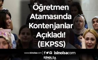Öğretmen Atamasında Kontenjanlar Açıkladı! (EKPSS)