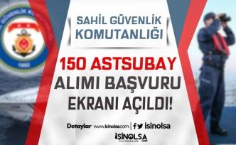 Sahil Güvenlik 60 KPSS ile Veya KPSS'siz 150 Astsubay Alımı Başvuru Başladı