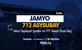 JAMYO 712 Muvazzaf Astsubay Alımı ( Öğrenci ) Yapacak! Şartlar ve TYT Puanı Belli Oldu!