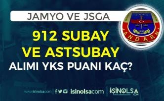 Jandarma 2021 Yılı JSGA ve JAMYO 912 Subay ve Astsubay Alımı YKS Puan Şartı?