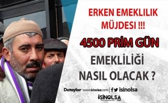 4500 Gün Şartı İle Erken Emeklilik Mümkün !!! SGK'ya Prim Ödeyen Kadınlar ve Erkekler Bu Habere!!!