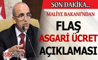 Maliye Bakanı Şimşek'ten Flaş Asgari Ücret Açıklaması