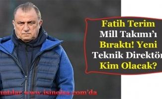Fatih Terim Türkiye A Milli Futbol Takımını Bıraktı! Yeni Hoca Kim Olacak