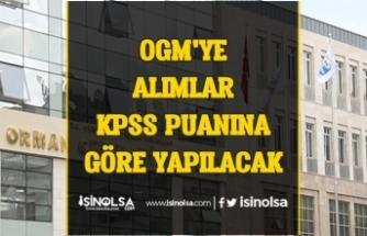 Orman Müdürlüğüne ( OGM ) 5 Bin Memur Alımı KPSS Puanına Göre Yapılacak!