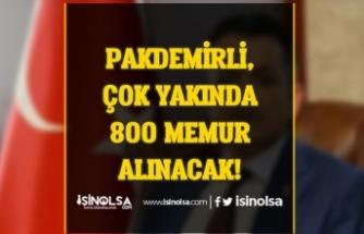 Tarım ve Orman Bakanlığı 800 Memur Alımı Yapacak! İlan Bekleniyor!