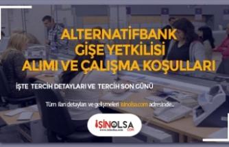 Alternatif Bank Gişe Yetkilisi Alıyor, Maaşlar ve Çalışma Şartları