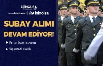 Jandarma YKS Puanı İle Muvazzaf Subay Alımı! Lise Mezunu