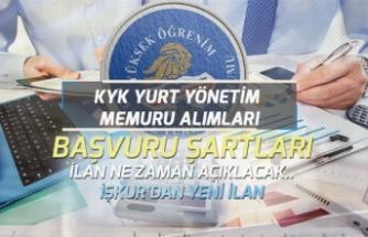 KYK Yurt Yönetim Memuru KPSS, Eğitim Başvuru Şartları! Yeni İlan