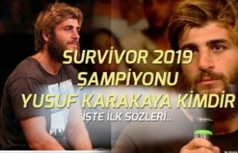 Survivor 2019 Şampiyonu Belli Oldu! Yusuf Karakaya Kimdir?