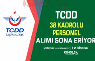 TCDD İŞKUR Aracılığı İle 38 Kadrolu Personel Alımı Sona Eriyor!