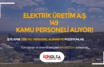 Türkiye Elektrik İletim ve Elektrik Üretim A.Ş. Genel Müdürlüğü 149 Kamu Personeli Alıyor