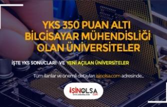 YKS İçin 350 Puan Altı Bilgisayar Mühendisliği Yazılabilecek Devlet Üniversiteleri