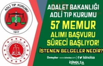 Adalet Bakanlığı ATK 57 Memur Alımı Başvuru Süreci Başlıyor! İstenen Belgeler?