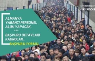 Almanya Türk İşçi Alımı Başvuru Şartları! Başvuru Formu Açıklandı!