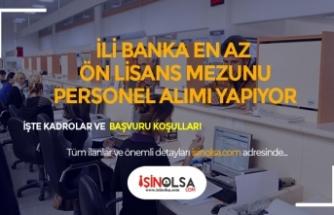 İki Banka En Az Ön Lisans Mezunu Şube İşlem ve Gişe Yetkisi Alıyor