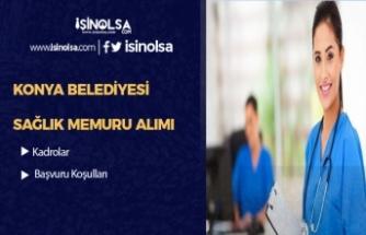 Konya Belediyesi Sözleşmeli Sağlık Personeli ve Memur Alımı Yapacak