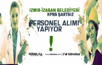 İzmir İZELMAN Belediyesi Bünyesinde KPSS Şartsız Mühendis, Mimar, Doktor, Hemşire Alınacak
