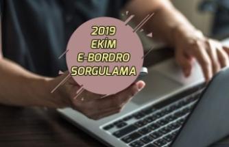 Ekim 2019 E-Bordro Sorgulama! Hazine ve Maliye Bakanlığı E-devlet Üzerinden!