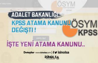 KPSS Atama Kanunu Değişti ! Bir Kurum Daha Sözlü Şartını Ekledi