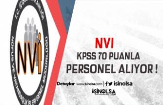 NVİ En Az 70 KPSS ile Personel Alacak ! İşte Detaylar ve Başvuru Şartları